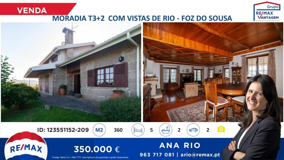 Fantática Moradia T3+2 com Vistas de Rio