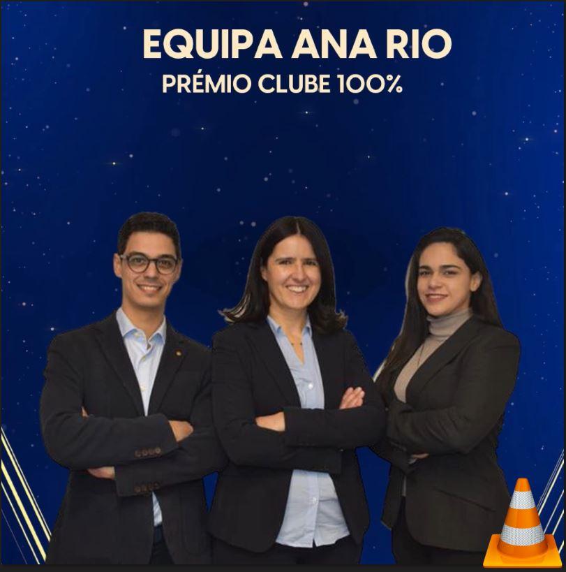 Prémio Clube 100% em Abril de 2021