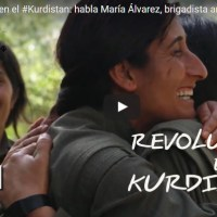 Revolución en el Kurdistan: habla María Álvarez, brigadista argentina (Vídeos)