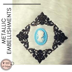 metallic embellishments