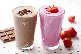 choclate strawberi milk