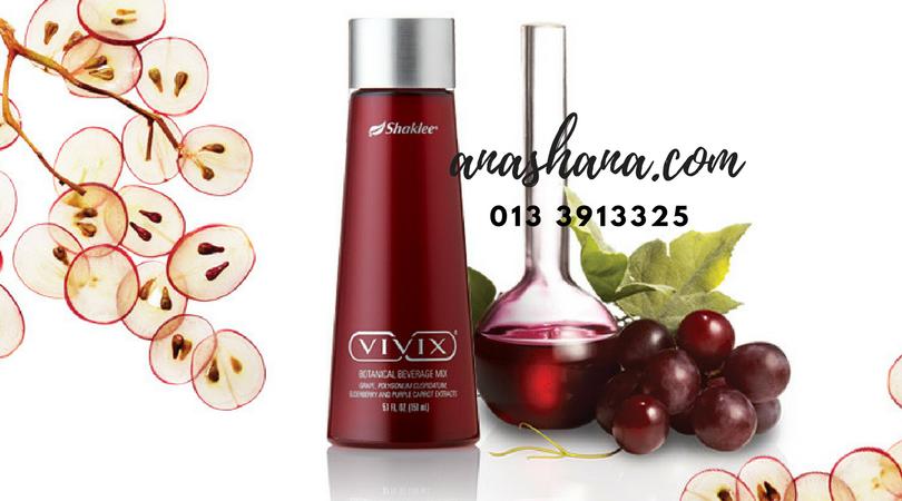 Vivix Minuman Botani Lazat ~ Bantu Kembali Stamina
