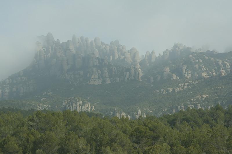 Гора Монсеррат, Испания