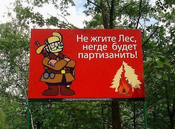 """Плакат """"Не жгите лес"""""""