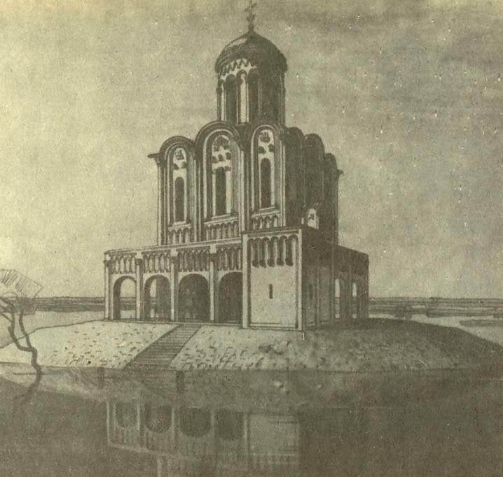 Храм Покрова на Нерли, реконструкция