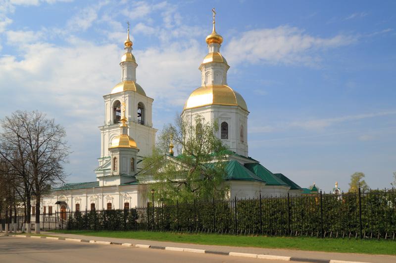 Свято-Троицкий Серафимо-Дивеевский монастырь, Казанская церковь