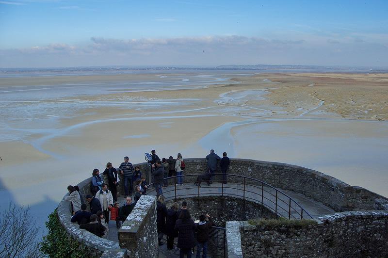 Панорама бухты Мон-Сен-Мишель