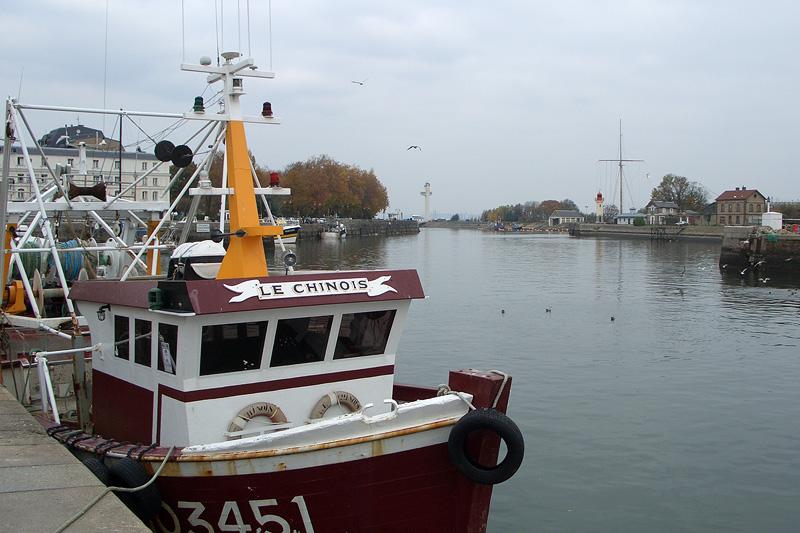 Рыбный порт Онфлёра