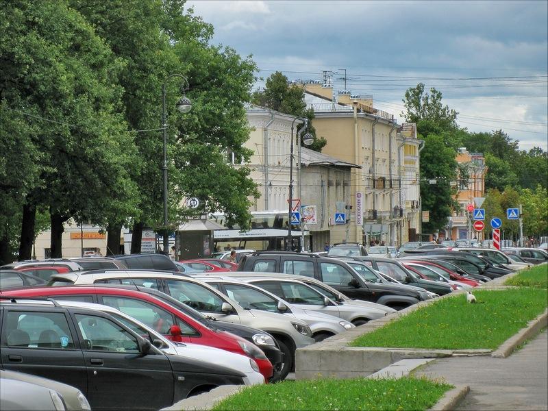В центре Пушкина