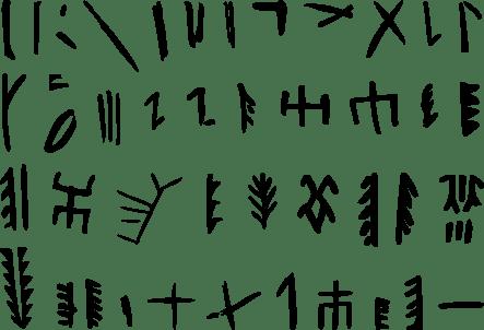 Пиктограммы на гончарных изделиях из Баньпо