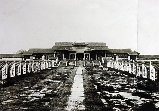Экзаменационные помещения, Китай
