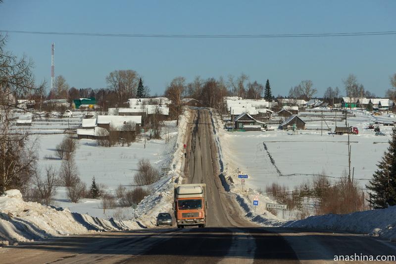 Село Воронье, Костромская область