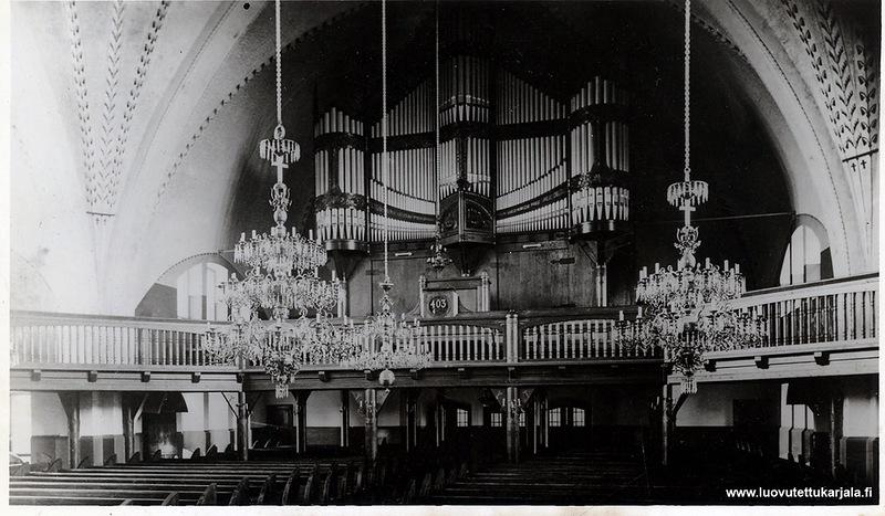 Орган в кирхе Святой Марии Магдалины, Койвисто, Приморск