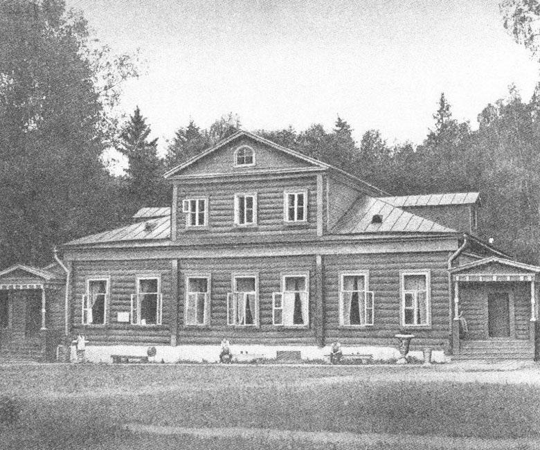 Главный усадебный дом в усадьбе В.М.Васнецова Ваньково