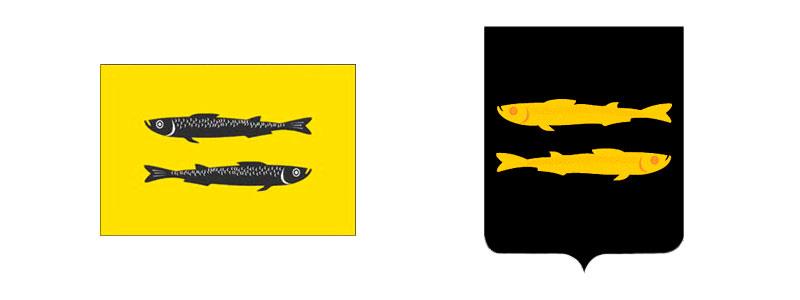 Флаг и герб Переславля-Залесского