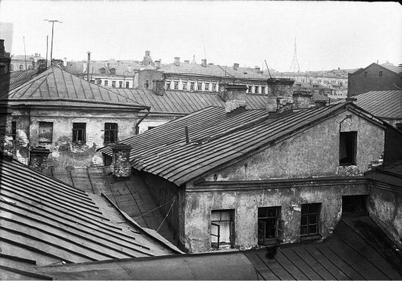 Зарядье, Москва, старые фотографии