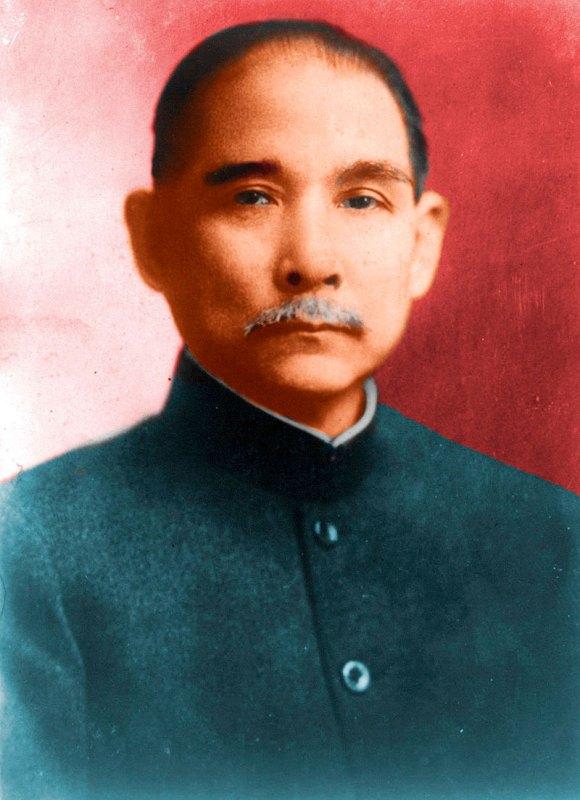 Временный глава Китайской Республики Сунь Ятсен