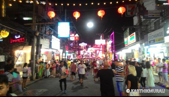 Thailand 6 Days Itinerary Walking Street Pattaya Thailand