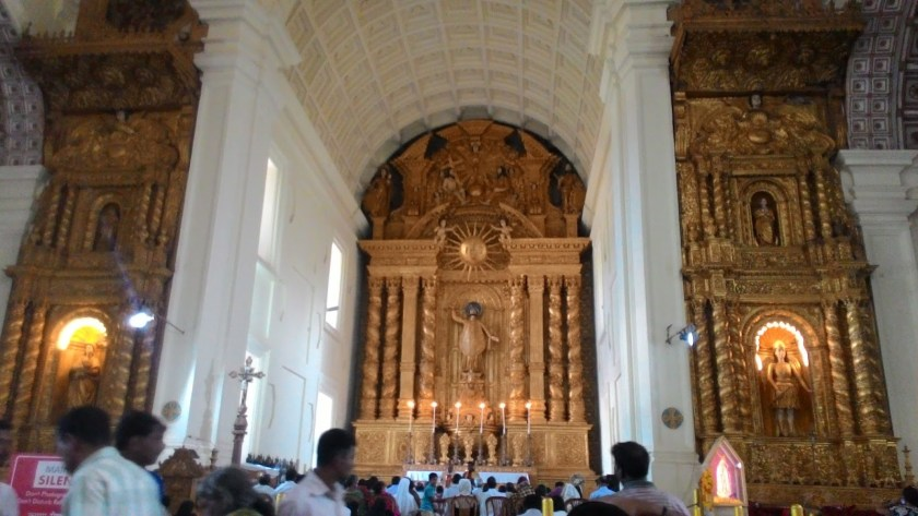 3 day goa vacation st.basilica church