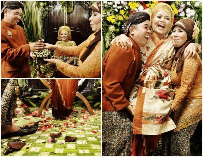 Siraman pernikahan adat sunda
