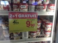 Promoção de Haagen Dasz num mega Carrefour ... Pena que não dava pra trazer! haha