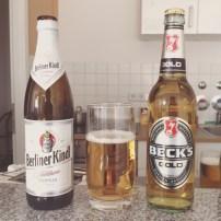 Bebendo cervejas alemãs ao meio-dia! haha