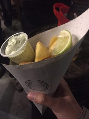 Fish and chips curitibano!