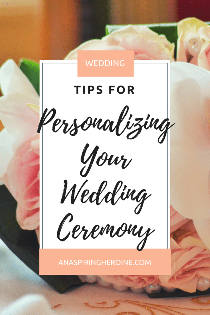 Your wedding ceremony should be a representation of who you are as a couple. I've outlined a few helpful tips for finding readings, knowing what to include, and how to personalize every last line to fit you and your husband-to-be | An Aspiring Heroine