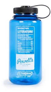 literature nalgene bottle