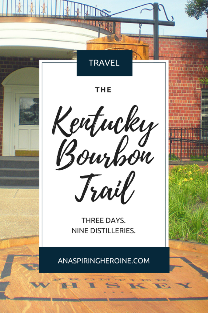 The Kentucky Bourbon Trail is a rite of passage for bourbon lovers! We spent three days driving around Kentucky and visiting all nine distilleries. Here's an itinerary for you to use!   An Aspiring Heroine