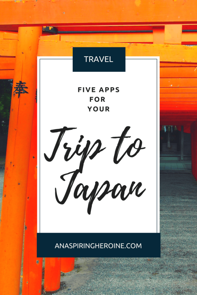 We recently spent a week in Japan, which means I know that these are the five apps you must download before you make the trip out to Tokyo, Kyoto, and any other beautiful Japanese city | An Aspiring Heroine