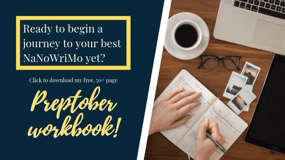 My free, 50+ page Preptober Workbook | An Aspiring Heroine