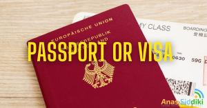 passport or visa