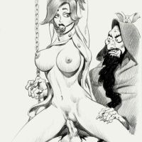 Looks like Anastasia was expecting something more evel when Rasputin got her