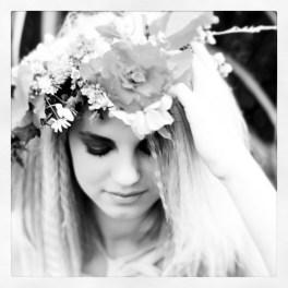 black & white portrait via anastasiabenko.com