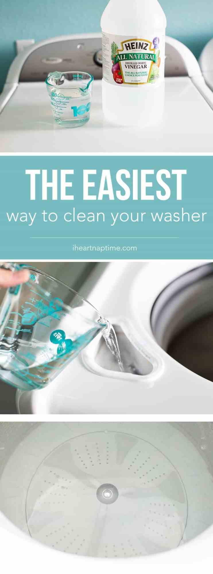 How to clean your washer - Cleaning Tips and Hacks