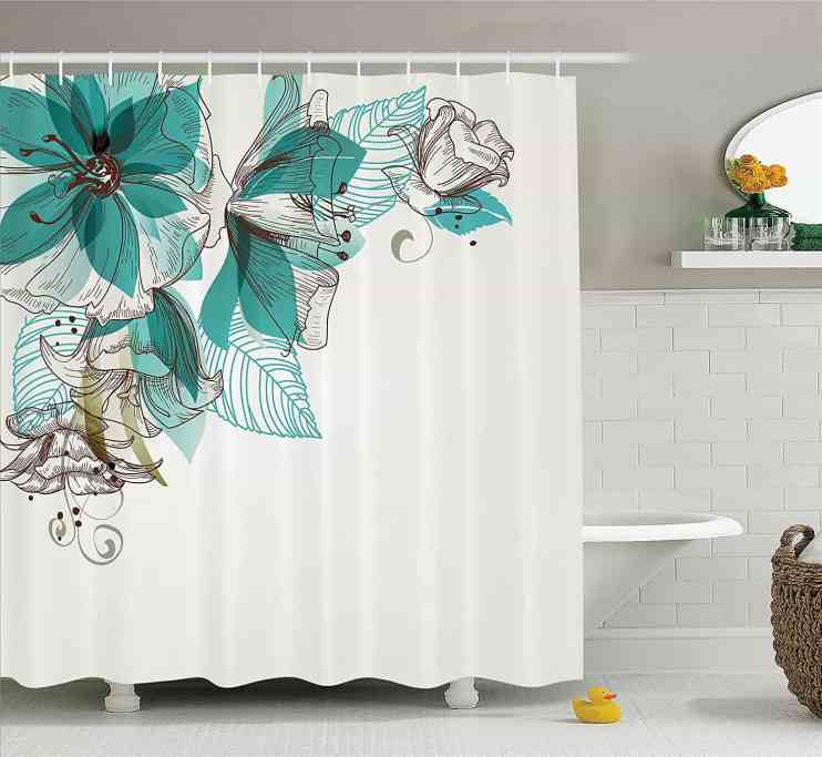 How to clean shower curtain - bathroom cleaning tips