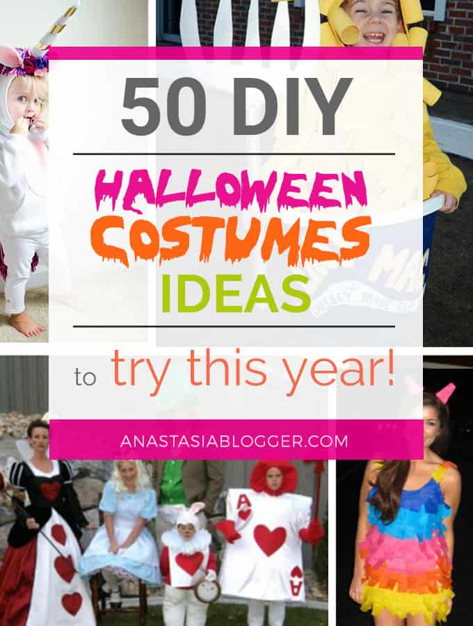 50 diy halloween costumes ideas to try this year