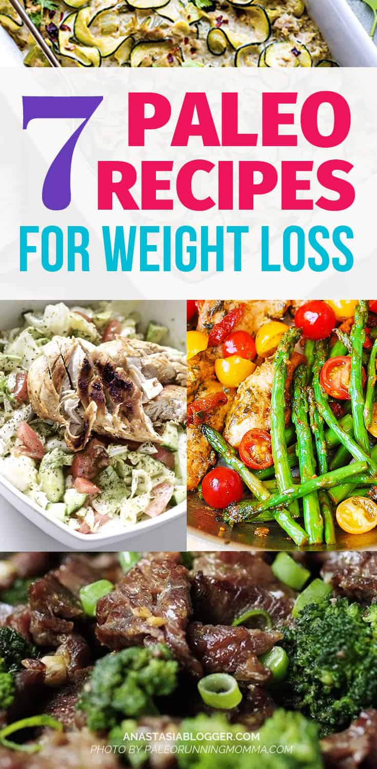 Paleo Recipes for Weight Loss – Cook a Paleo Dinner every weeknight in under 30 minutes! Paleo for beginners should be easy and fun to cook, so I made a list of my favorite Paleo diet meals. Easy Paleo recipes dinner for beginners.