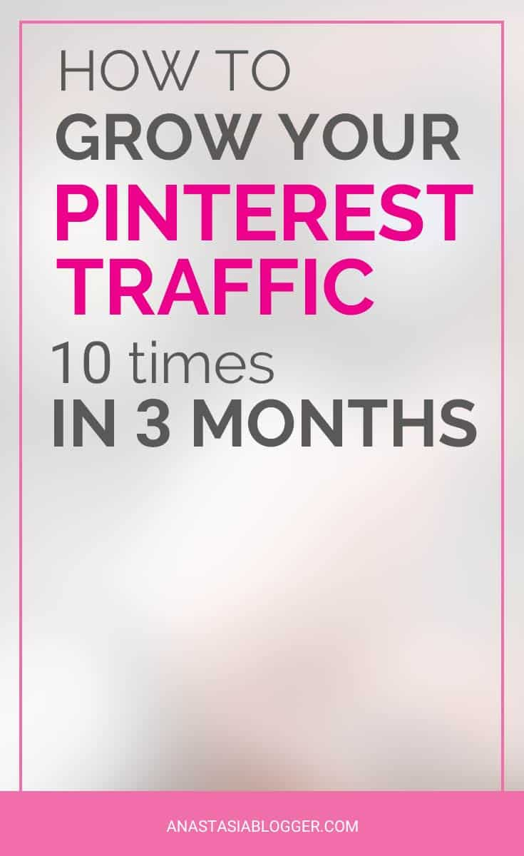 How Pinterest Traffic to My Blog Tripled in 2 weeks. Here is my Pinterest strategy, which helped me to grow my blog traffic and income. Learn how to create viral pins and drive tons of Pinterest traffic even with a small following, as a new blogger.