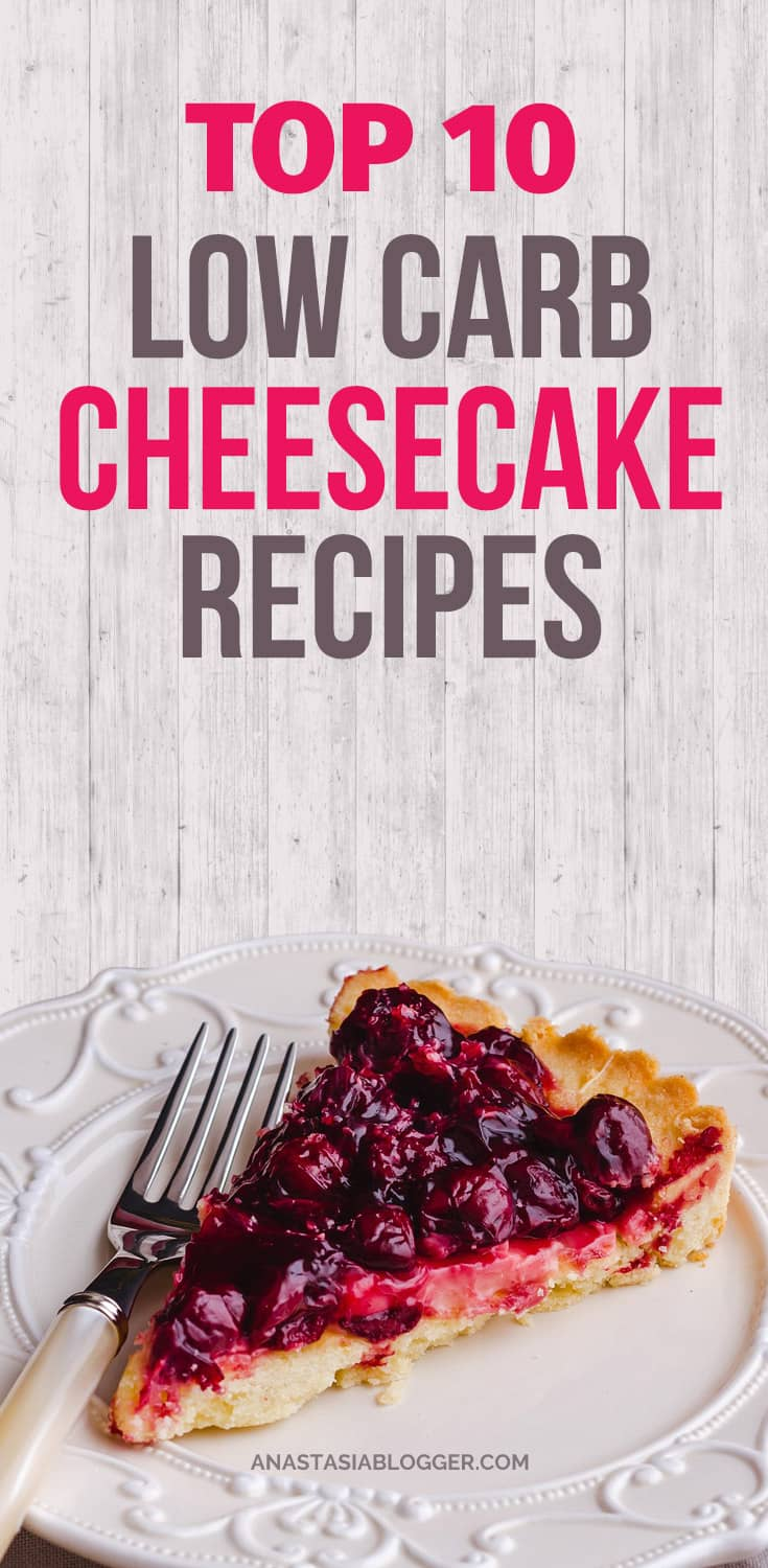 Check Top-10 low carb cheesecake recipes including easy low carb cheesecake no bake and keto options. No sugar low carb cheesecakes diabetic friendly. Low carb cheesecake bites for people on the Ketogenic diet.
