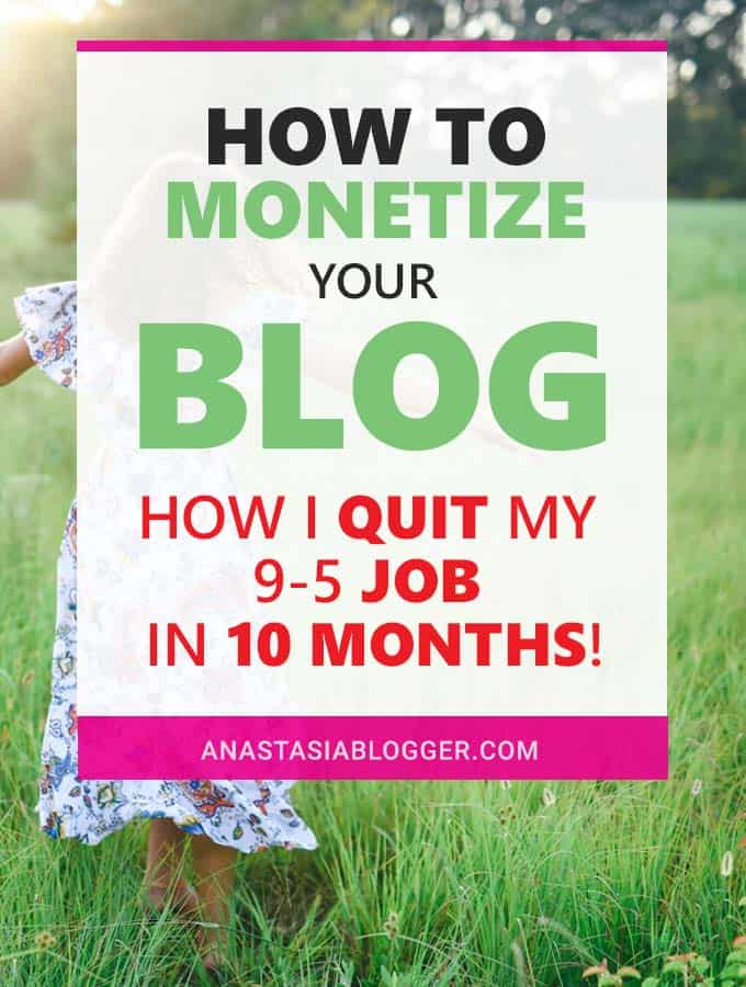 Learn how to monetize your blog with my blogging for money formula. I'll share how I went from 0 to 60,000 monthly pageviews in 2 months with a New Blog and how I'm using Pinterest SEO for an incredible blog traffic growth. How I make money blogging - over $2000 a month in passive income from ads and affiliates.