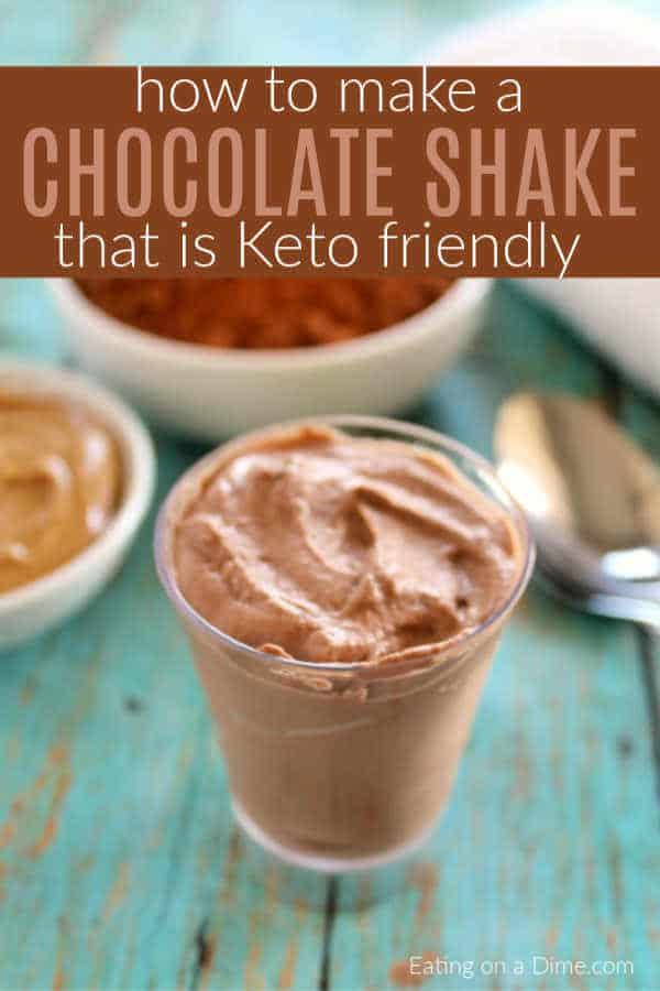 Keto Chocolate Shake - Easy Keto Breakfast to start burning fat. Keto Breakfast on the go, Keto breakfast make ahead recipes. Eggs cooked in creative ways are the basis of your breakfast on a Ketogenic diet. But it's not eggs only! You can have a no eggs Keto breakfast with muffins, Keto breakfast pancakes or Keto breakfast smoothie. #keto #ketogenic #ketodiet #breakfast #ketorecipes