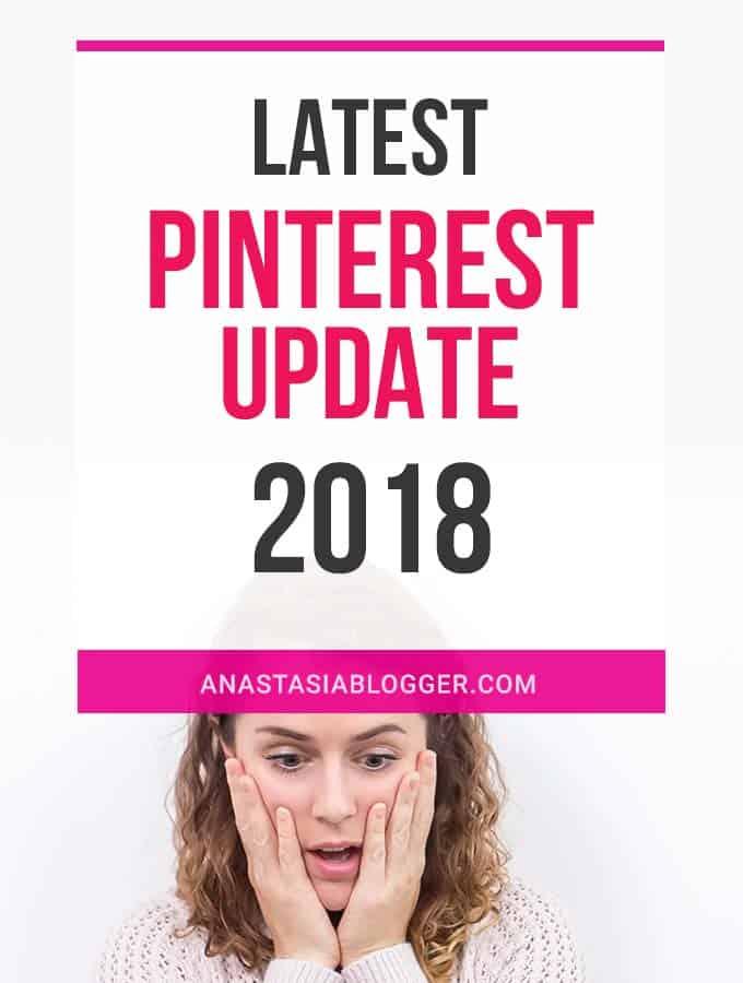 Latest Pinterest Update 2018