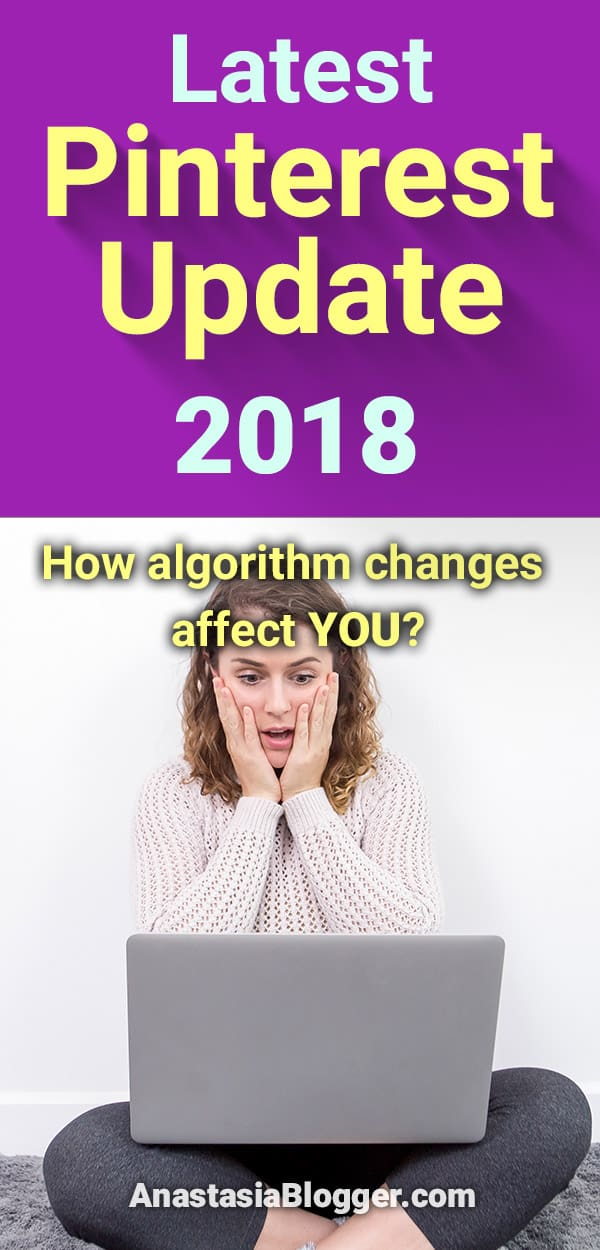 A new Pinterest update 2018 just happened, some algorithm or interface changes seem to be occurring as we speak, and your traffic is either going down or up. Pinterest marketing tips for bloggers. Pinterest tips and social media marketing, blogging tips. #pinterestmarketing #blogging #blog #blogtips #blogger #socialmedia #socialmediatips
