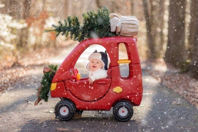 Christmas Pictures For Babies 14 Ideas For Diy Baby S First