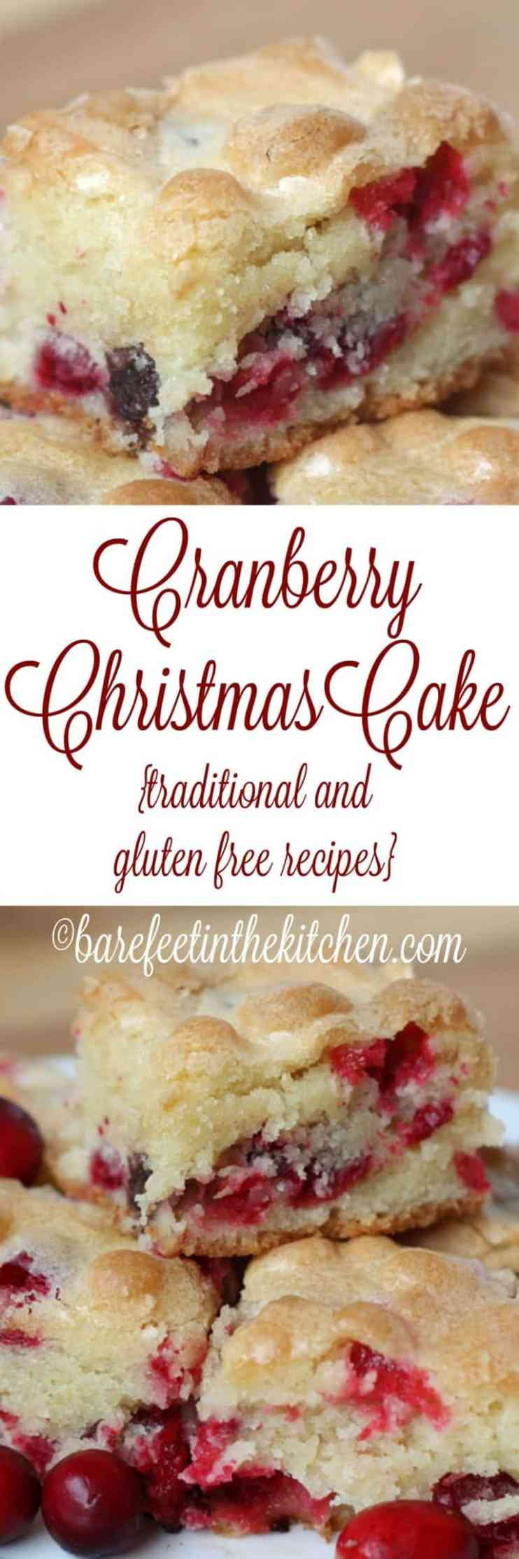Cranberry Christmas Cake - Best Christmas Desserts - Recipes and Christmas Treats to Try this Year! Try these amazing and cute easy Christmas dessert recipes to have a great party for your kids, friends, and family! Cupcakes, cakes, sweet bites, pies, brownies, home-made Christmas popcorn, Christmas cookies and other delights. #christmas #dessertfoodrecipes #xmas #recipes #food #christmasfood