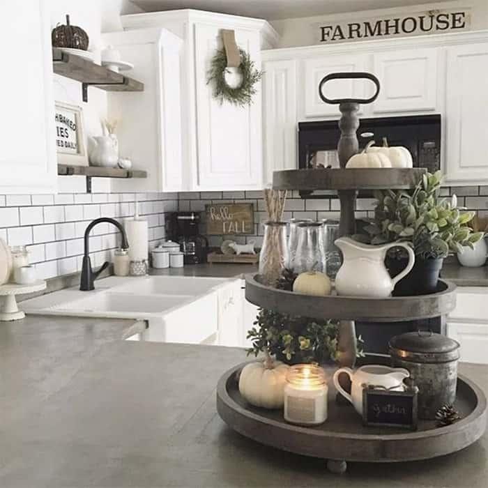 Farmhouse Kitchen Ideas on a Budget - Rustic Kitchen Decor on Farmhouse Rustic Kitchen Ideas  id=81788