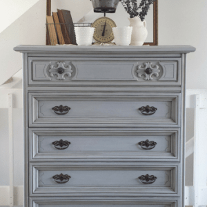 Faux Demin Finish Nightstand