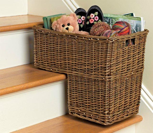 Stair Step Basket